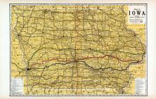 Iowa State Map, Polk County 1914
